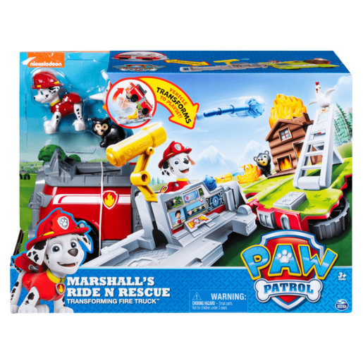 Paw Patrol Marshal's Ride Rescue Transforming Playset