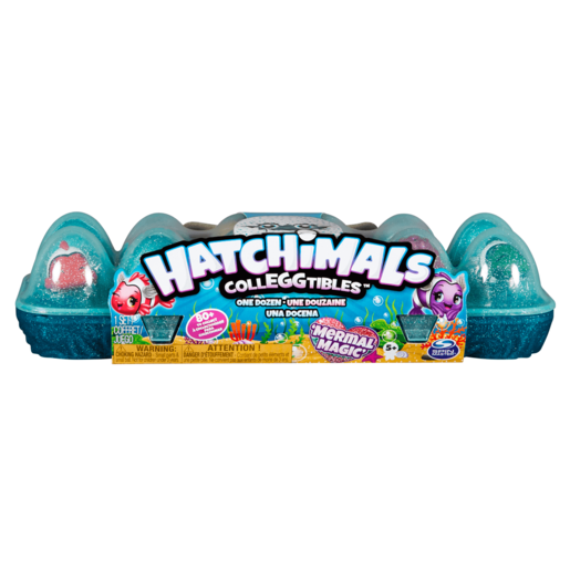 Hatchimals CollEGGtibles Season 5 Mermal Magic - 12 Pack Egg Carton