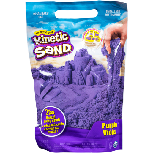 Kinetic Sand (2lb) - Purple