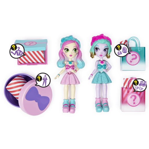 Off The Hook Style 10cm Dolls Naia and Jenni Spring Dance Playset