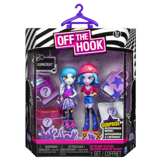 Off The Hook Style 10cm Dolls - Naia and Mila
