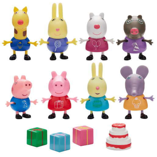 Peppa and Friends - Party Pack Figures
