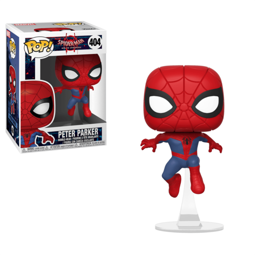 Funko Pop! Movies: Spider-Man Into the Spiderverse - Peter Parker
