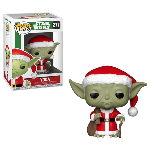 Funko Pop! Movies: Star Wars - Santa Yoda (Christmas Edition)