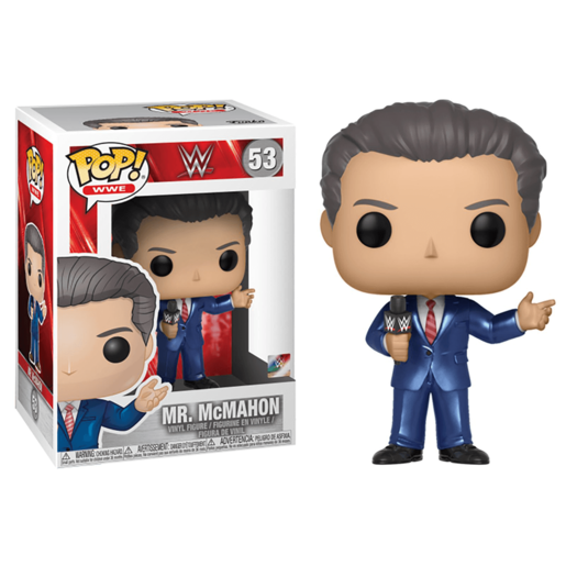 Funko Pop! WWE: Vince McMahon (Styles Vary)
