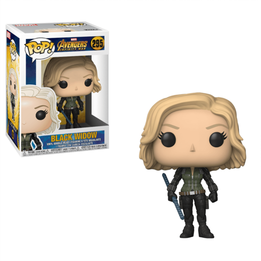 Funko Pop! Marvel: Avengers Infinity War - Black Widow