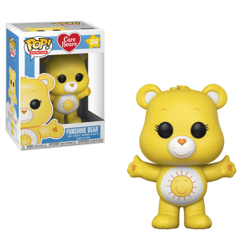Funko Pop! Animation: Care Bears - Funshine Bear (Styles Vary)