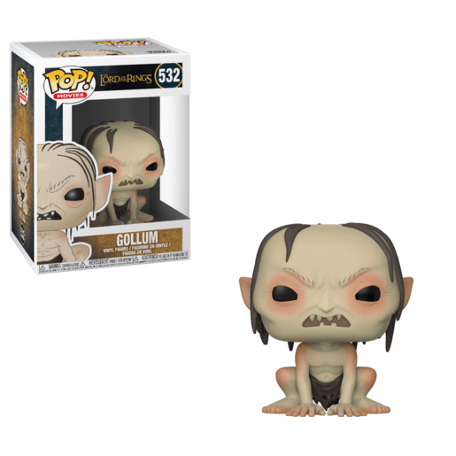 Funko Pop! Movies: Lord Of The Rings - Gollum (Styles Vary)