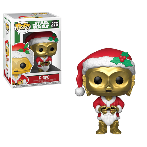 Funko Pop! Movies: Star Wars - C-3PO (Christmas Edition)