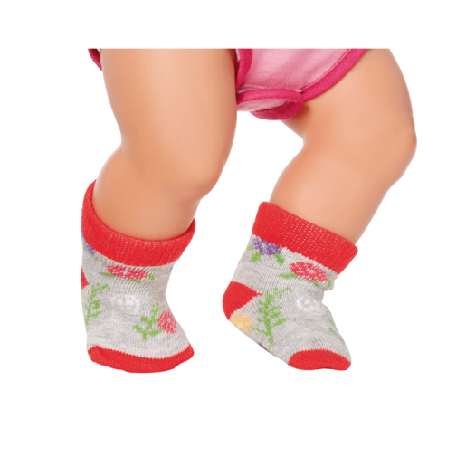 BABY Born Trend Socks for 43cm Dolls (Styles Vary, One Supplied)