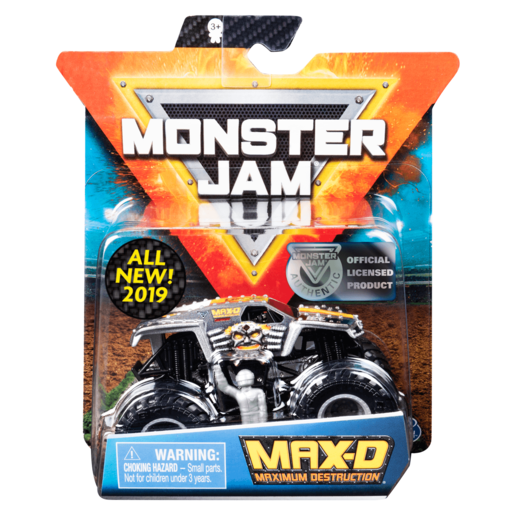 Monster Jam 1:64 Scale Die-Cast Monster Truck - Ruff Crowd Series (Styles Vary)