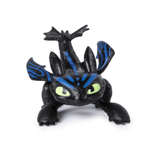 DreamWorks Dragons: Hidden World - 5cm Colour-Changing Figure - Toothless