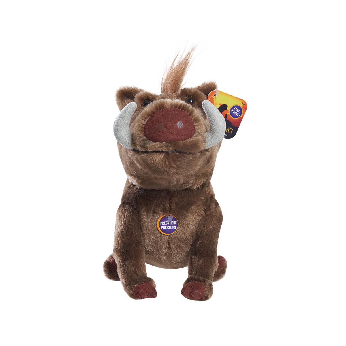 Lion King Talking Plush Toy Pumbaa