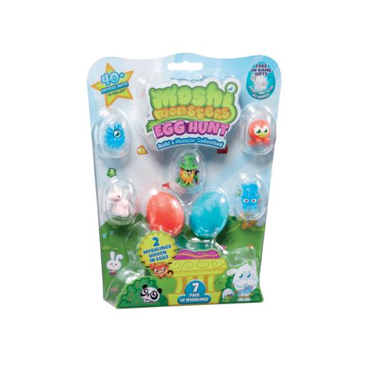 Moshi Monsters Egg Hunt - Surprise 7 Pack