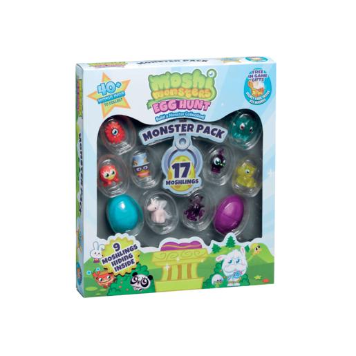Moshi Monsters Egg Hunt - Monster 17 Surprise Pack