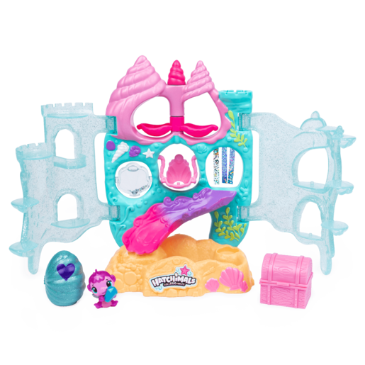 Hatchimals CollEGGtibles - Coral Castle Playset