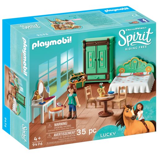 Playmobil DreamWorks Spirit Luckys Bedroom   9476