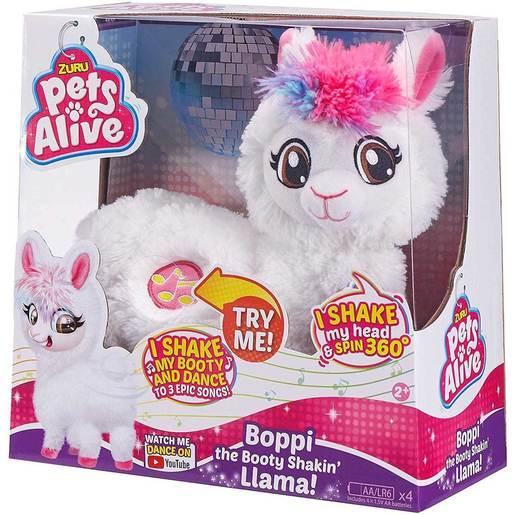 Pets Alive - Boppi The Booty Shakin' Llama By ZURU (Styles Vary)