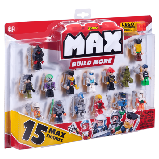 MAX Build More Mini Figure Set - 15 Figures