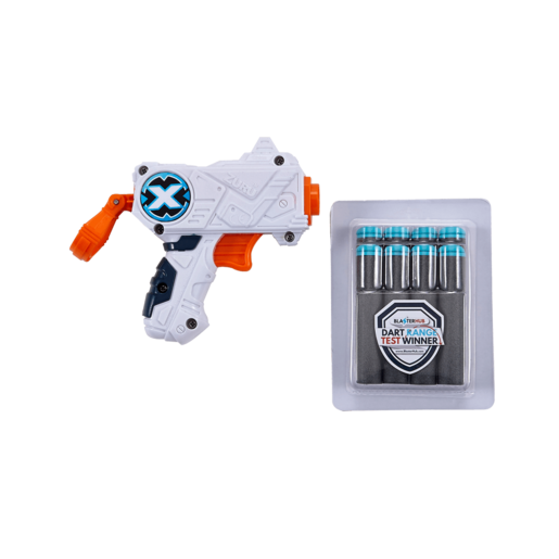 X-Shot Micro Foam Dart Blaster - 8 Darts By ZURU
