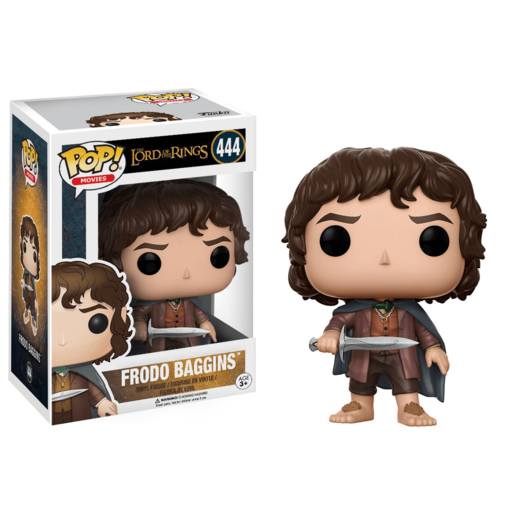 Funko Pop! Movies: Lord Of The Rings - Frodo Baggins (Styles Vary)