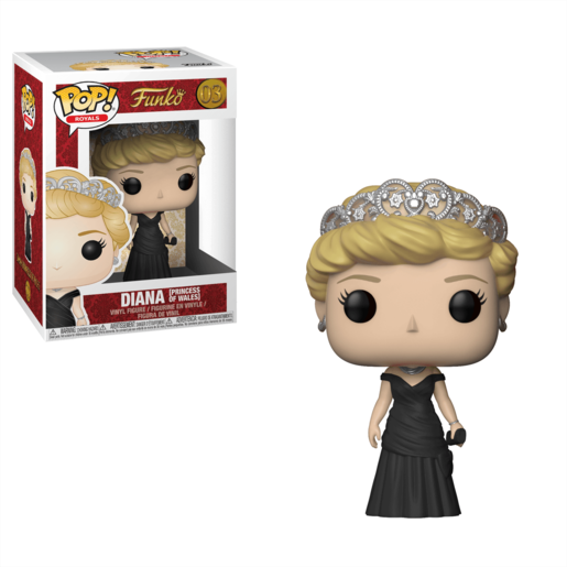 Funko Pop! Royals: Royal Family - Diana Princess of Wales (Styles Vary)