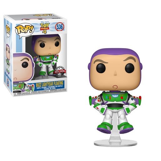 Funko Pop! Disney Pixar: Toy Story 4 - Buzz Lightyear (UK Exclusive)
