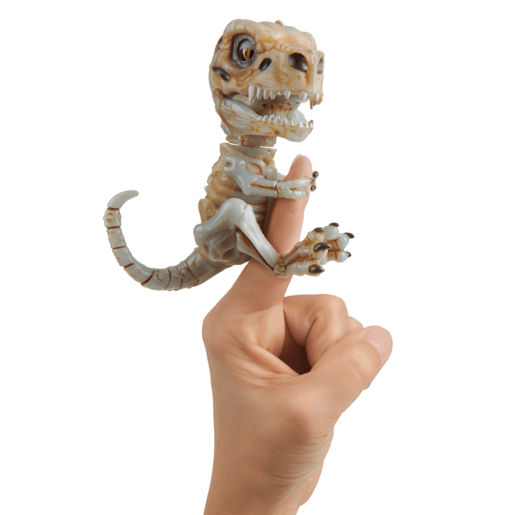 Fingerlings Untamed Bonehead Skeleton T-Rex by Fingerlings – Doom (Ash)
