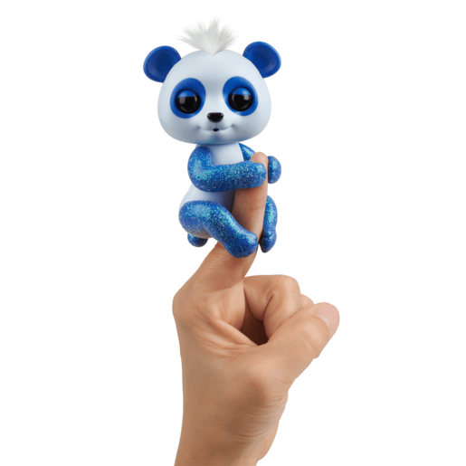 Fingerlings Glitter Panda - Archie (Blue)
