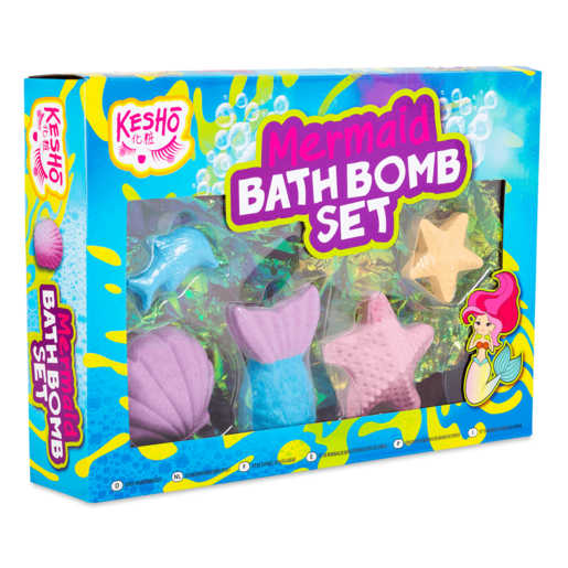 Kesho Mermaid Bath Bomb Set