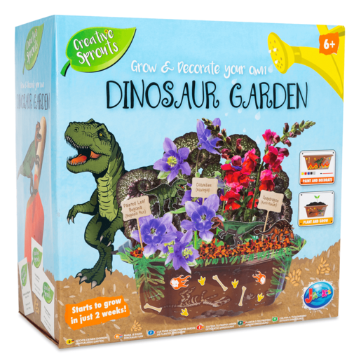 Grow and Decorate Your Own Dinosaur Garden
