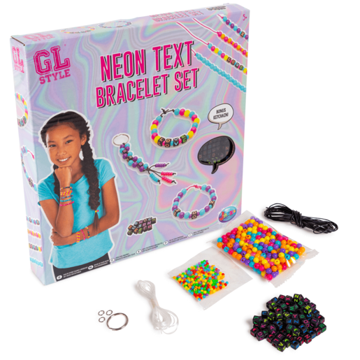 GL Style Make Your Own Neon Text Bracelets