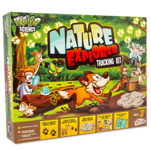 Weird Science - Nature Explorer Tracking Kit