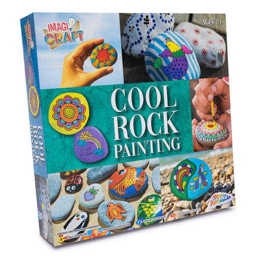 Rock Painting Kit - Cool