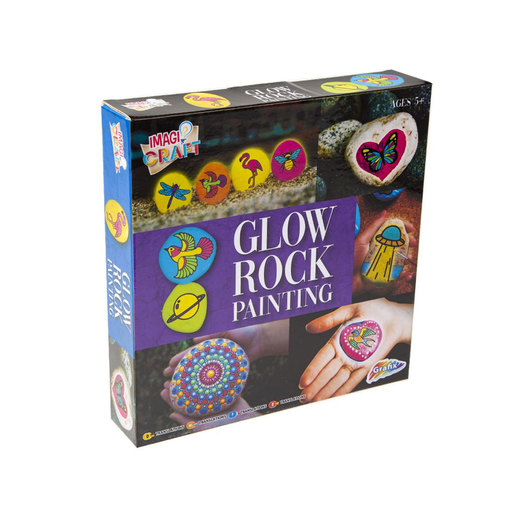 Rock Painting Kit - Glow