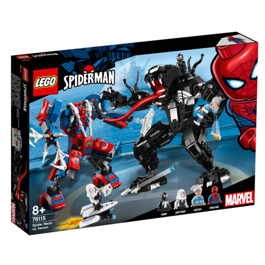 LEGO Marvel Spider Mech vs. Venom - 76115