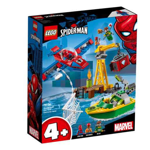 LEGO Marvel Spider-Man: Doc Ock Diamond Heist - 76134