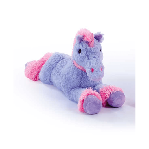 Snuggle Buddies 70cm Laying Unicorn - Purple