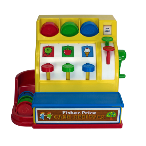 Fisher Price Classic Toys - Cash Register