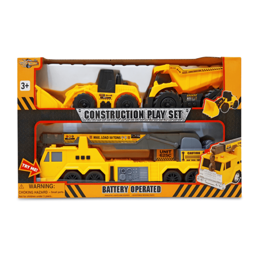 Construction Vehicles Playset