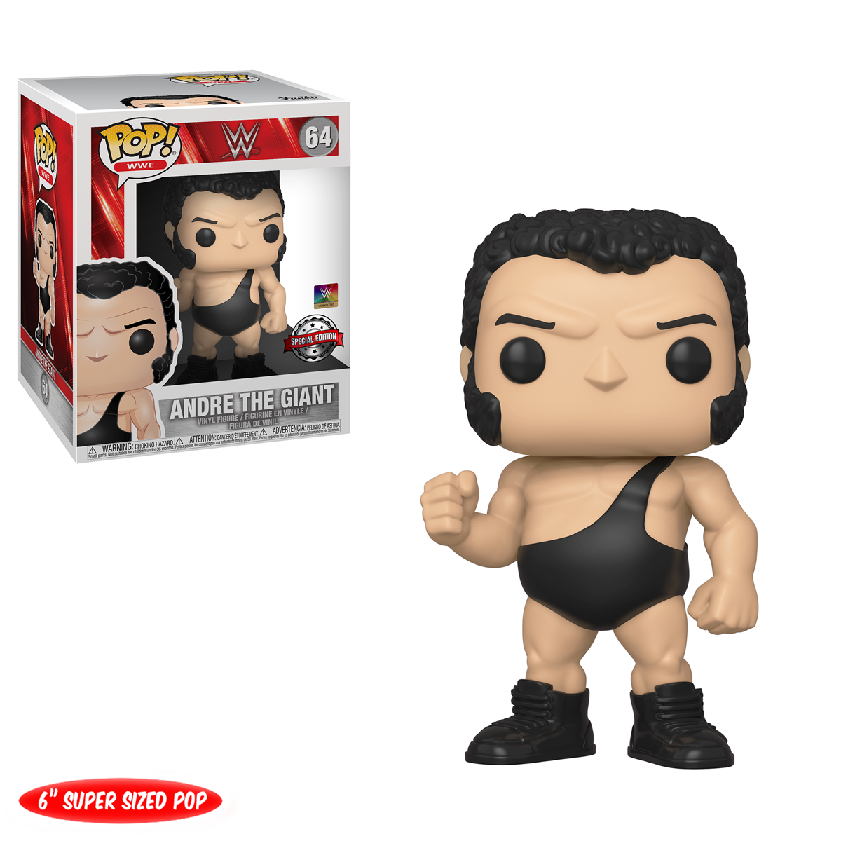 WWE Andre · the · Giant Soft vinyl figure