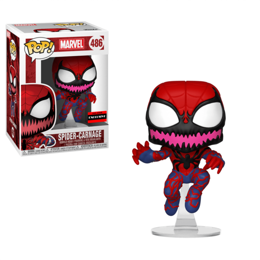 Funko Pop! Marvel: Spider-Man Carnage