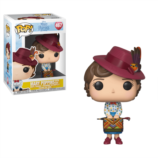 Funko Pop! Movies: Mary Poppins Returns - Mary Poppins with Bag