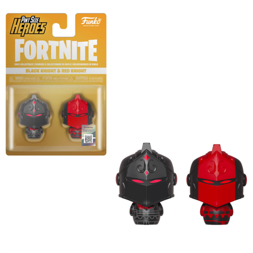 Funko Pop! Pint Size Heroes: Fortnite 2 Pack - Black Knight and Red Knight