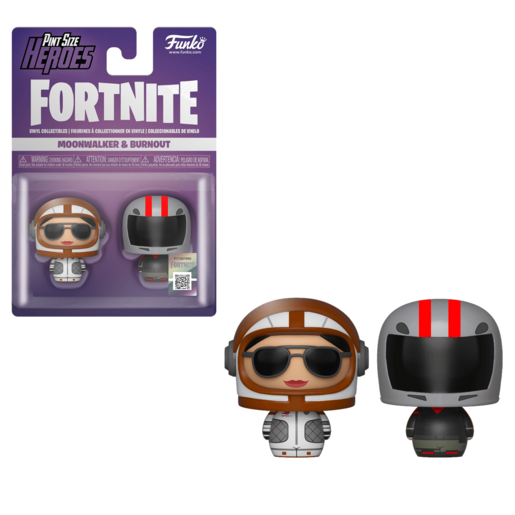 Funko Pop! Pint Size Heroes: Fortnite 2 Pack - Moonwalker and Burnout
