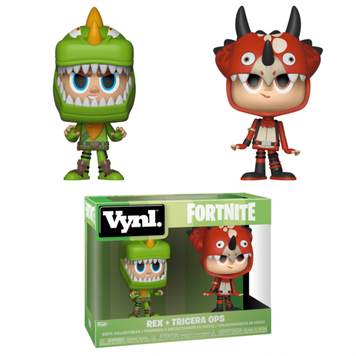 Funko Vynl. Fortnite - Rex and Tricera Ops
