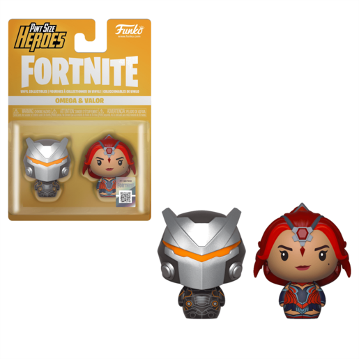 Funko Pop! Pint Size Heroes: Fortnite 2 Pack - Omega and Valor