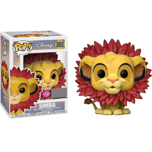 Funko Pop! Disney: Lion King - Simba Flocked Edition