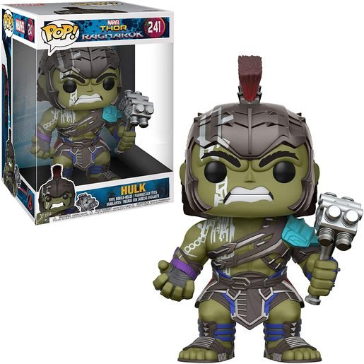 Funko Pop! Marvel: Thor Ragnarok - Super Sized 25cm Hulk Bobble-Head