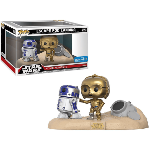 Funko Pop! Movies: Star Wars - Escape Pod Landing (R2D2 and C3PO)